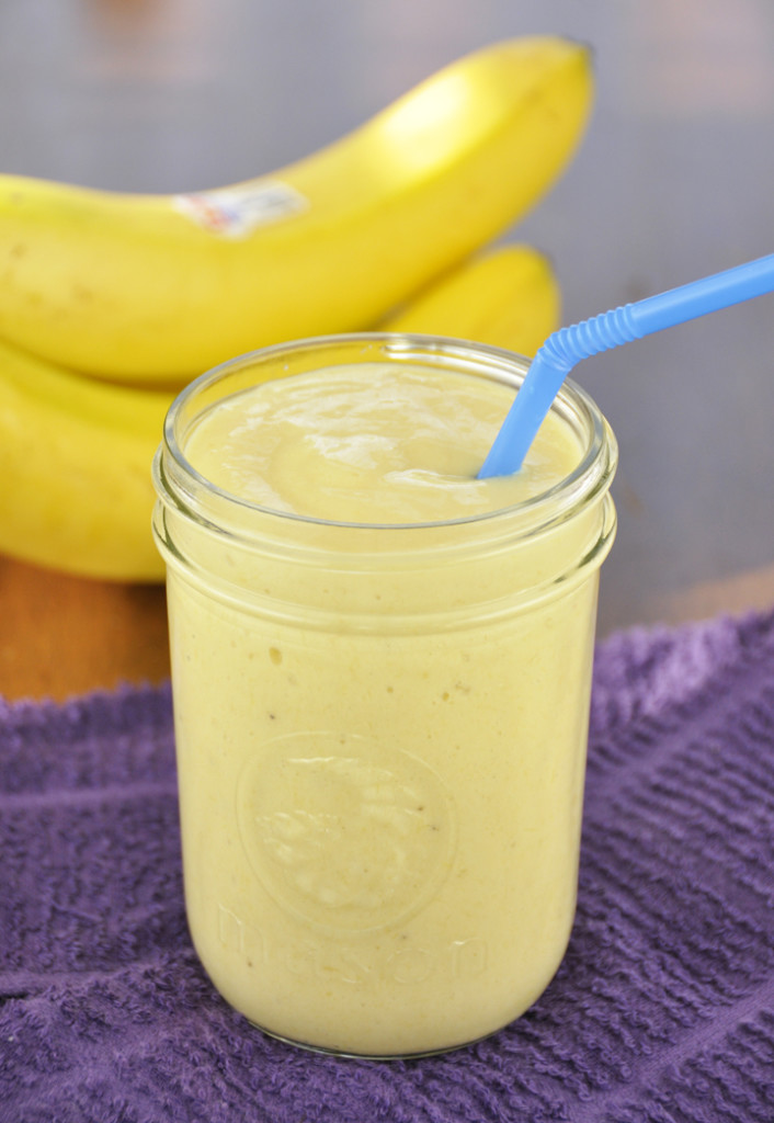 Banana-Mango-Smoothie recipe