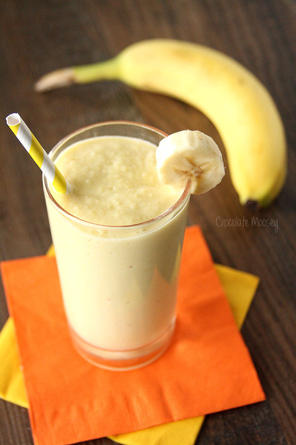 banana mango yogurt smoothie recipe