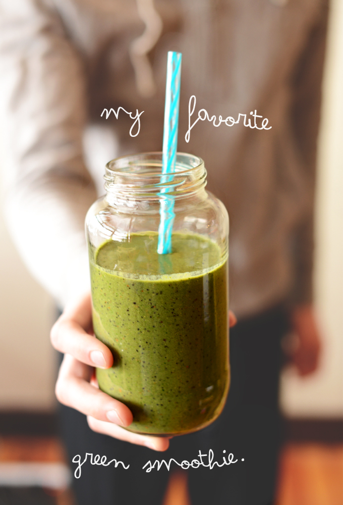 minimalist bakers green smoothie