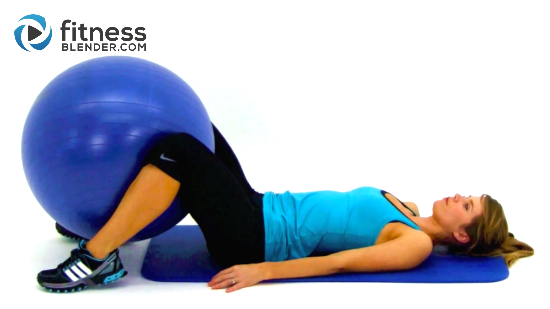 stability ball squeeze