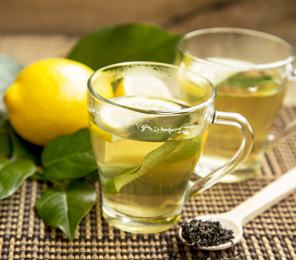 lemon green tea for weight loss