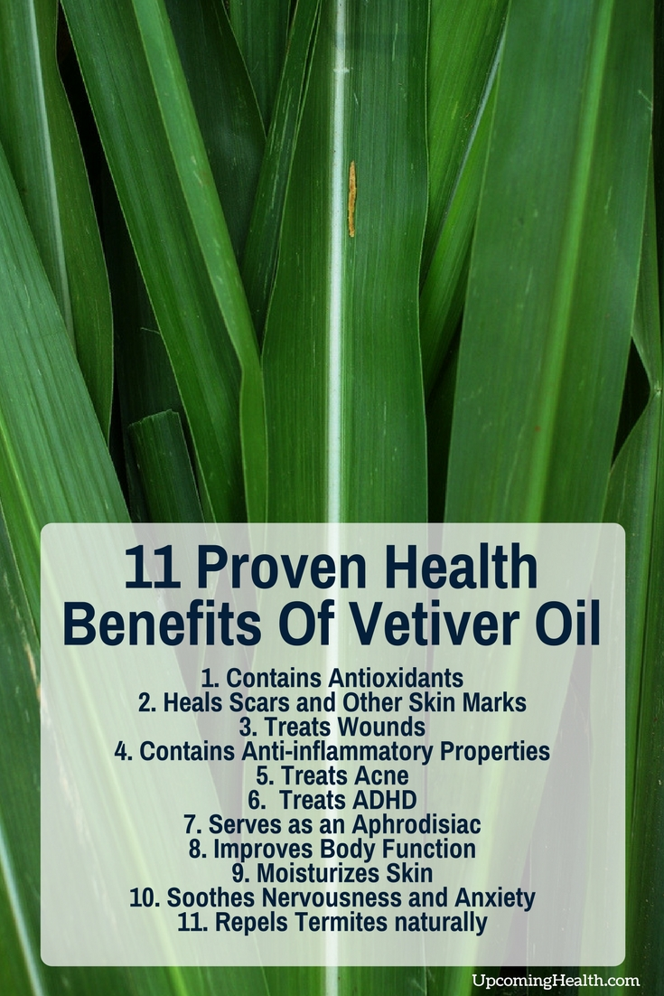 11 Proven Health Benefits Of Vetiver Oil