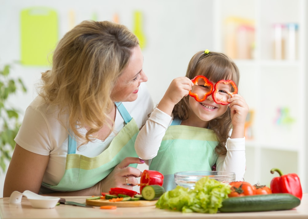 Prepare your own meals and include the family to ensure your diet intake is low in calories