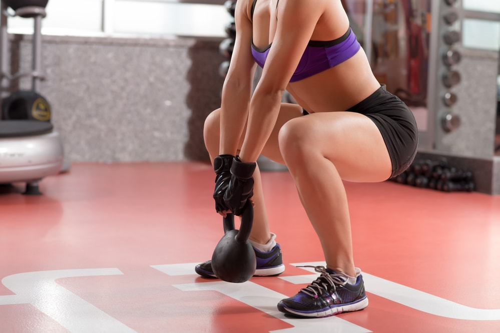 Plie Squat for thigh toning