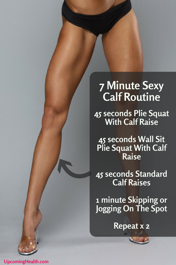 How to lose weight in calves 1