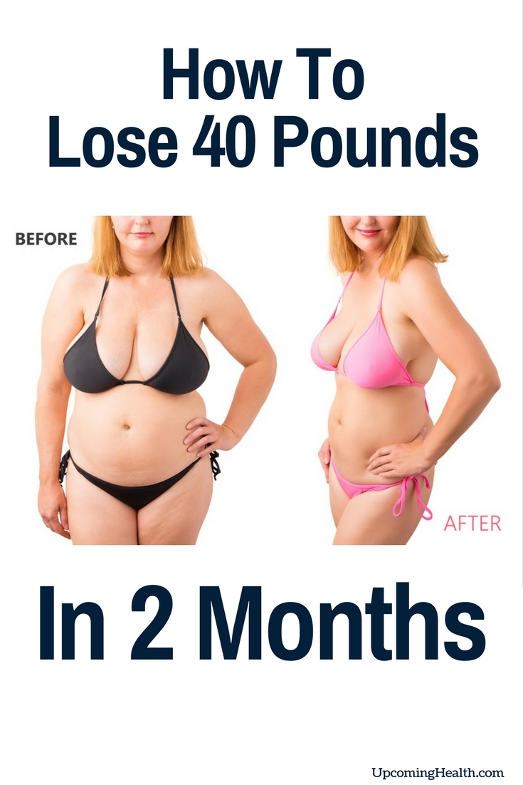 lose 40 pounds in 2 months diet plan